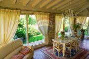 Veranda della villa esclusiva Erbusco