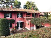 Scorcio della villa di Brescia in zona panoramica